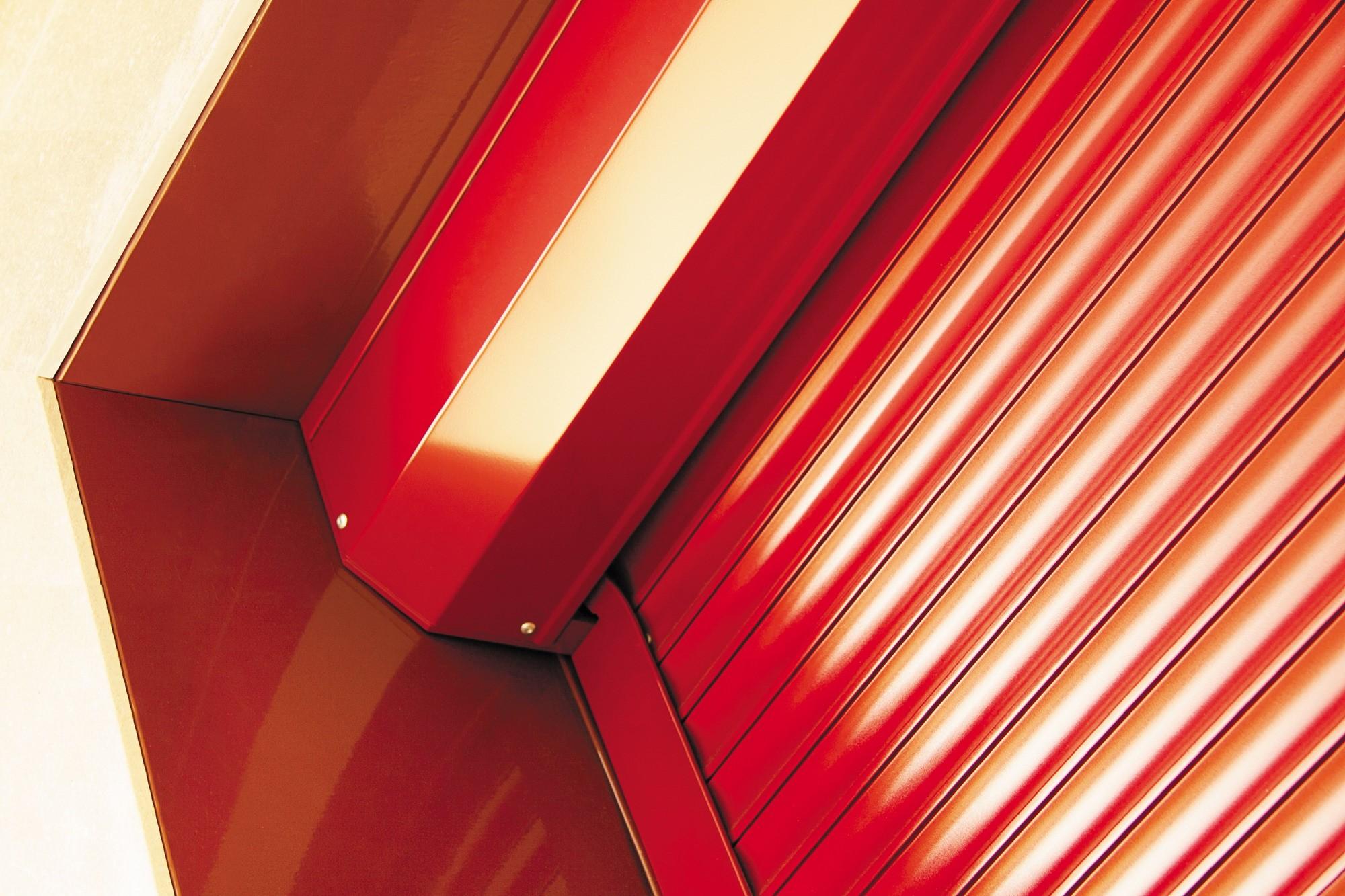 Цветовая палитра роллетных систем