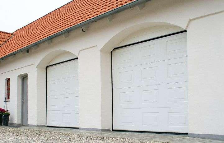 подъемные ворота в гараж